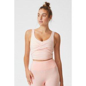 Cotton On Sportovní top So Peachy růžová růžová S