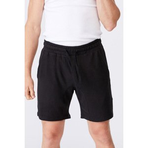 Cotton On Černé šortky Supersoft černá XL