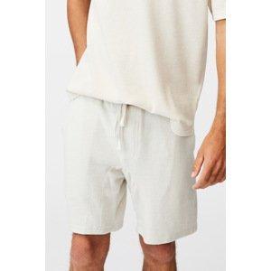 Cotton On Krémové šortky Supersoft krémová S