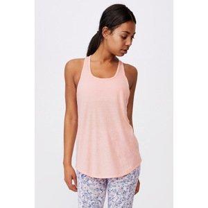 Cotton On Sportovní top Training růžová růžová XL
