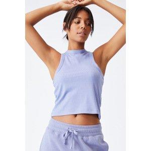 Cotton On Dámský top Racer fialová fialová XL