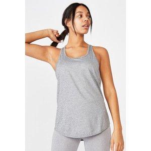 Cotton On Sportovní top Training šedá šedá XS