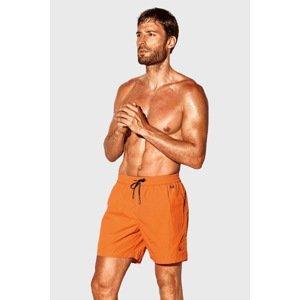 David 52 Oranžové koupací šortky David 52 Caicco oranžová M