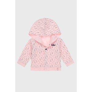 Dirkje Dívčí oboustranný cardigan Baby girl růžová 74