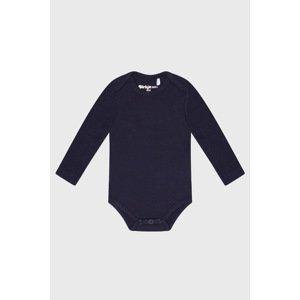 Dirkje Chlapecké bodýčko s dlouhým rukávem Baby modré modrá 74/80