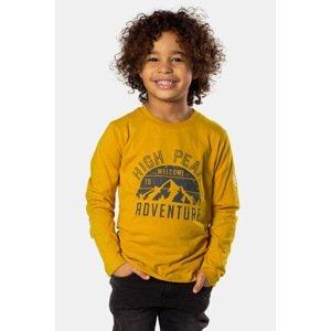 DJ Dutchjeans Chlapecké tričko Adventure žlutá 110