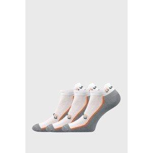 VoXX 3 PACK nízkých ponožek Locator bílá 39-42