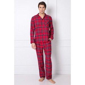 Aruelle Pánské pyžamo Daren červená XXL
