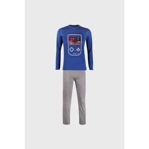 CTM Style Chlapecké pyžamo Magic Play modré modrá 16