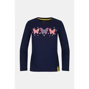 LOAP Dívčí tričko LOAP Bifie tmavě modré tmavěmodrá 122/128