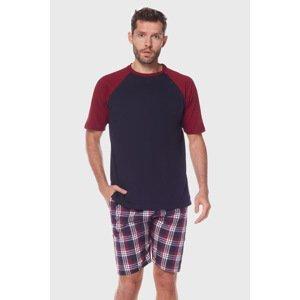 L -  L Pyžamo Kenan barevná XL