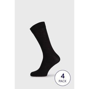 Selected Homme 3 PACK ponožek Selected Homme černá uni