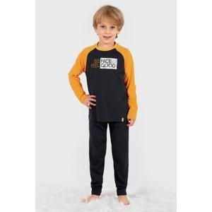 BLACKSPADE Chlapecké pyžamo Nice černá 152
