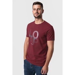 LOAP Vínové tričko LOAP Alf vínová S