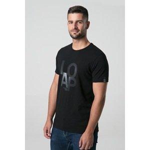LOAP Černé tričko LOAP Alf černá XL