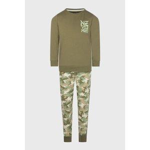 Charlie Choe Chlapecké pyžamo Nature zelená 170/176
