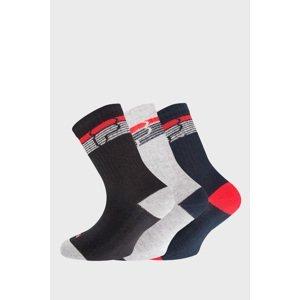 FILA 3 PACK chlapeckých ponožek FILA Warm barevná 23-26
