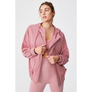 Cotton On Dámská mikina Panelled růžová růžová XL