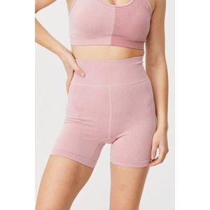 Cotton On Dámské sportovní šortky Bike Shorts růžová růžová XS/S