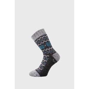 VoXX Dárkový set hřejivých ponožek a rukavic Trondelag antracit 35-38