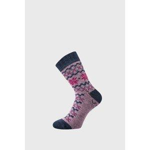 VoXX Dárkový set hřejivých ponožek a rukavic Trondelag růžová 35-38
