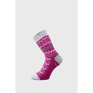 VoXX Dárkový set hřejivých ponožek a rukavic Trondelag magenta 39-42