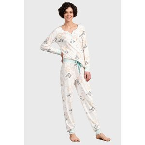 Eskimo Dámský pyžamový set Felicia vícebarevná L