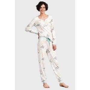 Eskimo Dámský pyžamový set Felicia vícebarevná XL