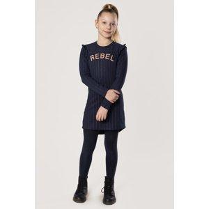 DJ Dutchjeans Dívčí šaty Rebel modrá 152