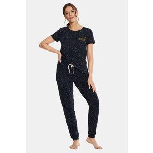 Esotiq Dámské pyžamo Filippa vícebarevná XL