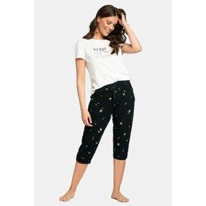 Esotiq Dámské pyžamo Francy vícebarevná XL