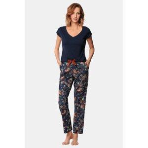 Nipplex Dámský pyžamový set Livia vícebarevná XL