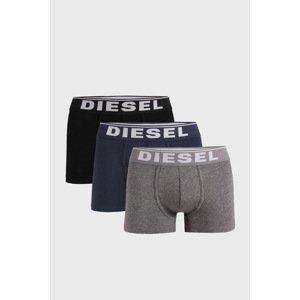 Diesel 3 PACK boxerek Diesel Ewane černomodrá XXL
