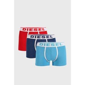 Diesel 3 PACK boxerek Diesel Doran bíločervená M