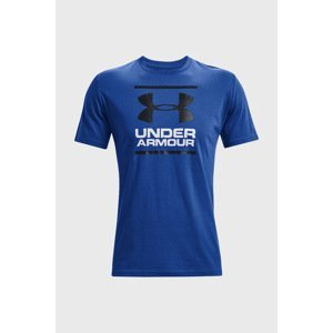 Under Armour Modré tričko Under Armour Foundation II modrá L
