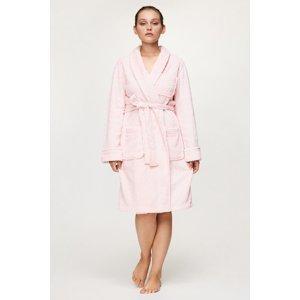 Ralph Lauren Dámský župan Ralph Lauren Soft růžová XL