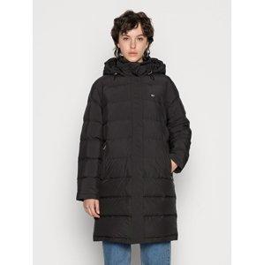 Tommy Jeans dámský černý kabát - M (BDS)