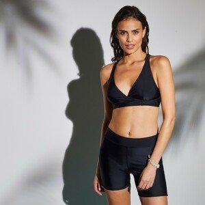 Blancheporte Plavková podprsenka se sportovními zády Solaro, jednobarevná černá, koš. B 80