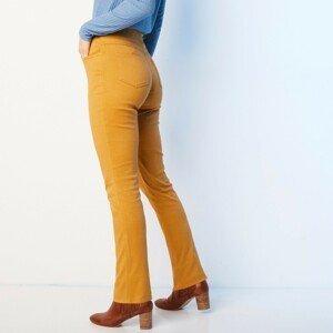 Blancheporte Rovné kalhoty s pružným pasem kari 40