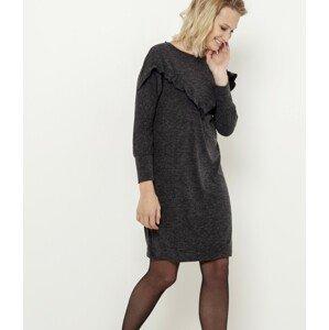 CAMAIEU šedé šaty - XL