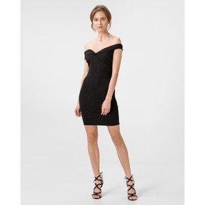 Guess černé šaty Blanca - S