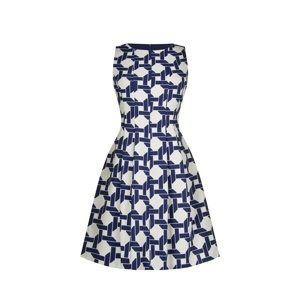 Rinascimento modré šaty - M