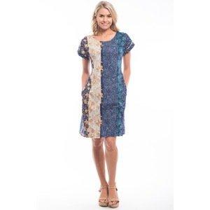 Orientique oboustranné květované šaty Toledo - 42