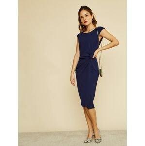ZOOT modré pouzdrové šaty Lauren - XL