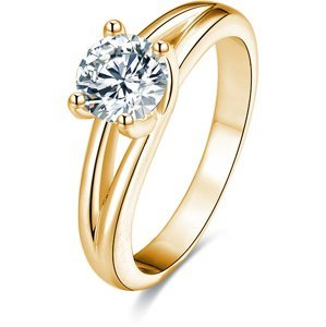Beneto Stříbrný prsten s krystaly AGG199 56 mm
