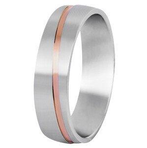 Beneto Pánský bicolor prsten z oceli SPP07 69 mm