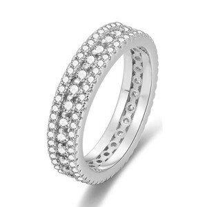 Beneto Stříbrný prsten se zirkony AGG325 54 mm