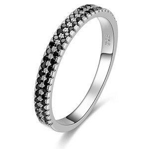 Beneto Módní dámský prsten se zirkony AGG387 56 mm
