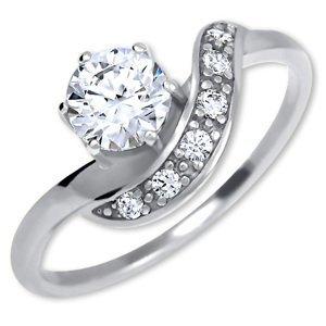 Brilio Silver Stříbrný zásnubní prsten 426 001 00534 04 54 mm