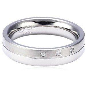 Boccia Titanium Titanový snubní prsten s diamanty 0129-03 62 mm